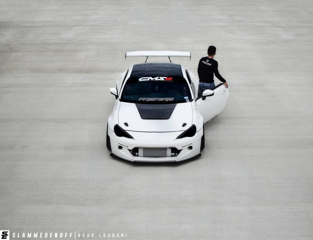 Стенс проект - купе Scion FR-S 2016 года