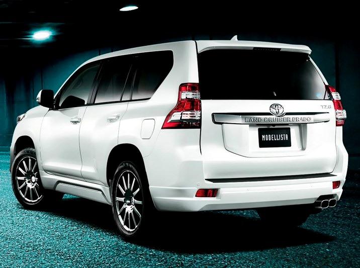 Toyota Land Cruiser 2014 в обвесе Modellista