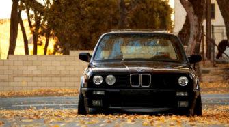 BMW e30 тюнинг - Маньяк и его жертва 1986 года