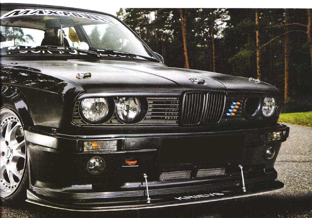 BMW e30 тюнинг - Маньяк и его жертва