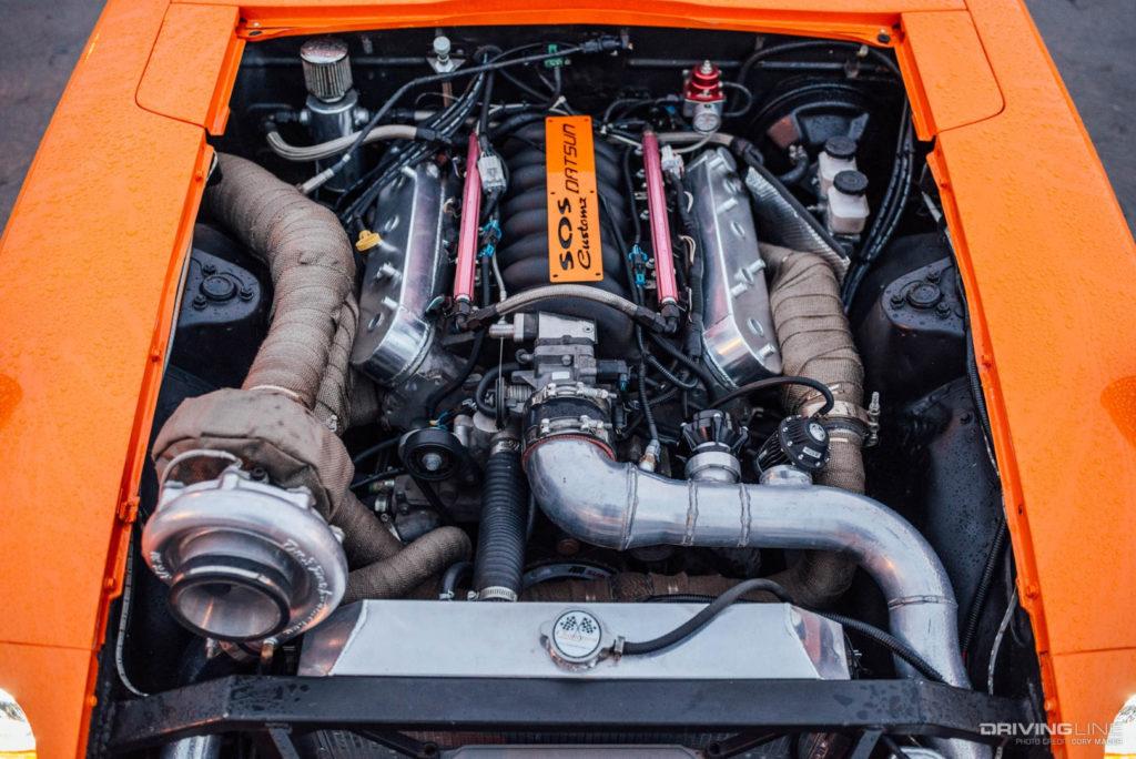 Проект Datsun 240Z С МОТОРОМ LS от компании SOS Customz