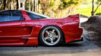 Acura NSX 1991 года - машина вне времени..