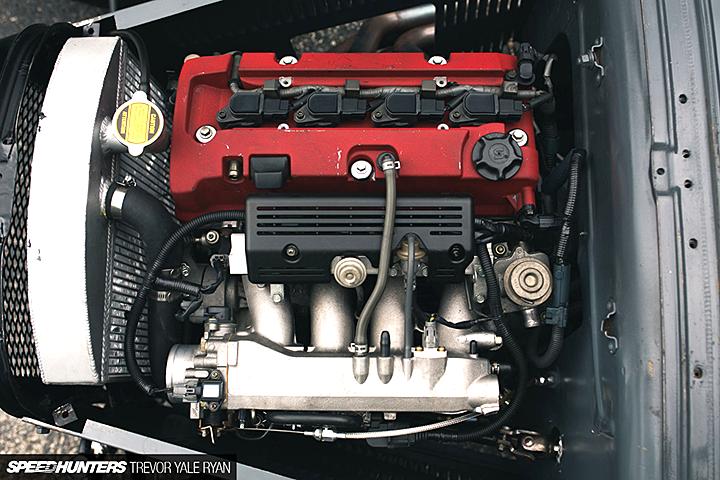 Форд 1930 года с мотором от Хонды s2000