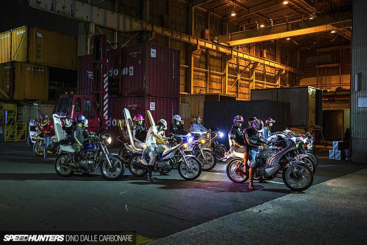 Ночная тусовка босозоку в Йокогаме