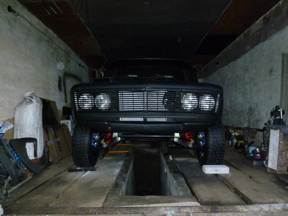 Один день из жизни проекта Lada 2106 WRC