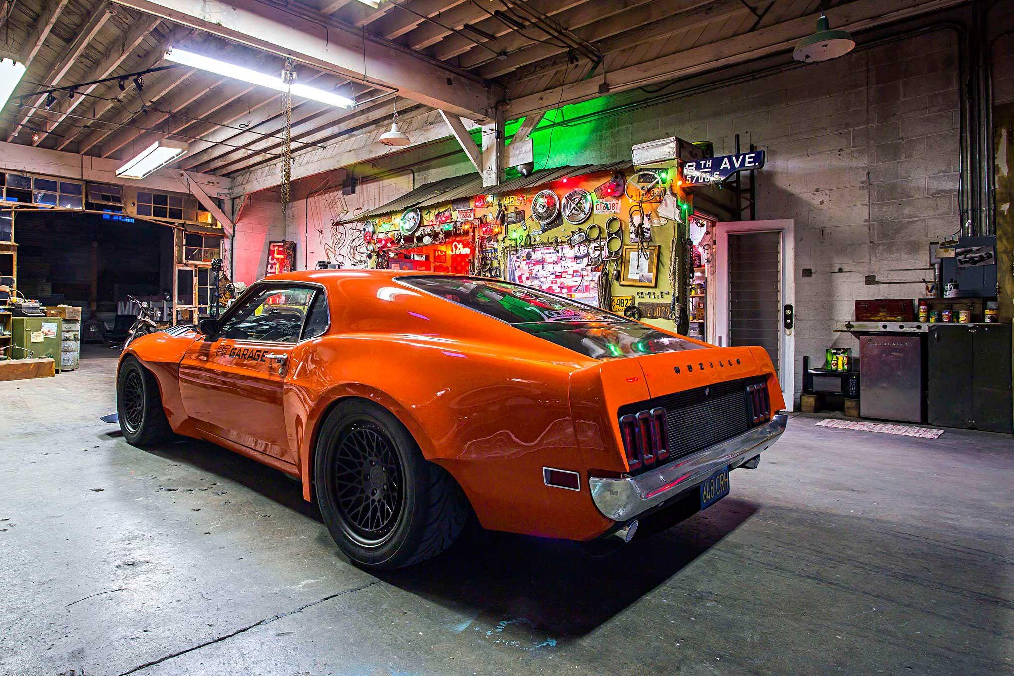 Снаружи мустанг - внутри Годзилла!!! - 1970 Ford Mustang