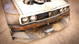 Turbo-франкенштейн на V8 - Toyota Hilux