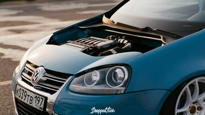 """Volkswagen Golf R32 mkV - уникальный экземпляр в жанре """"clean look"""""""