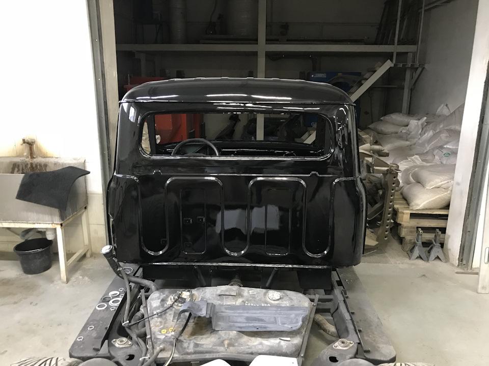 Вперед, в прошлое! - как построить ГАЗ 53 Пикап