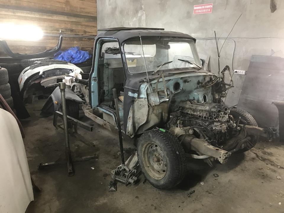 перед, в прошлое! - как построить ГАЗ 53 Пикап