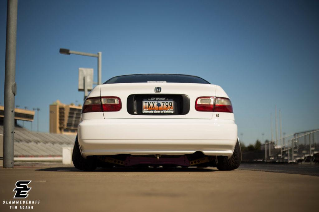 Второе рождение стенс проект - Honda Civic Ex Coupe 1995 года