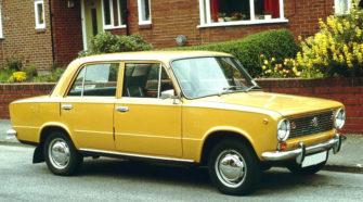 vaz 2101 yellow