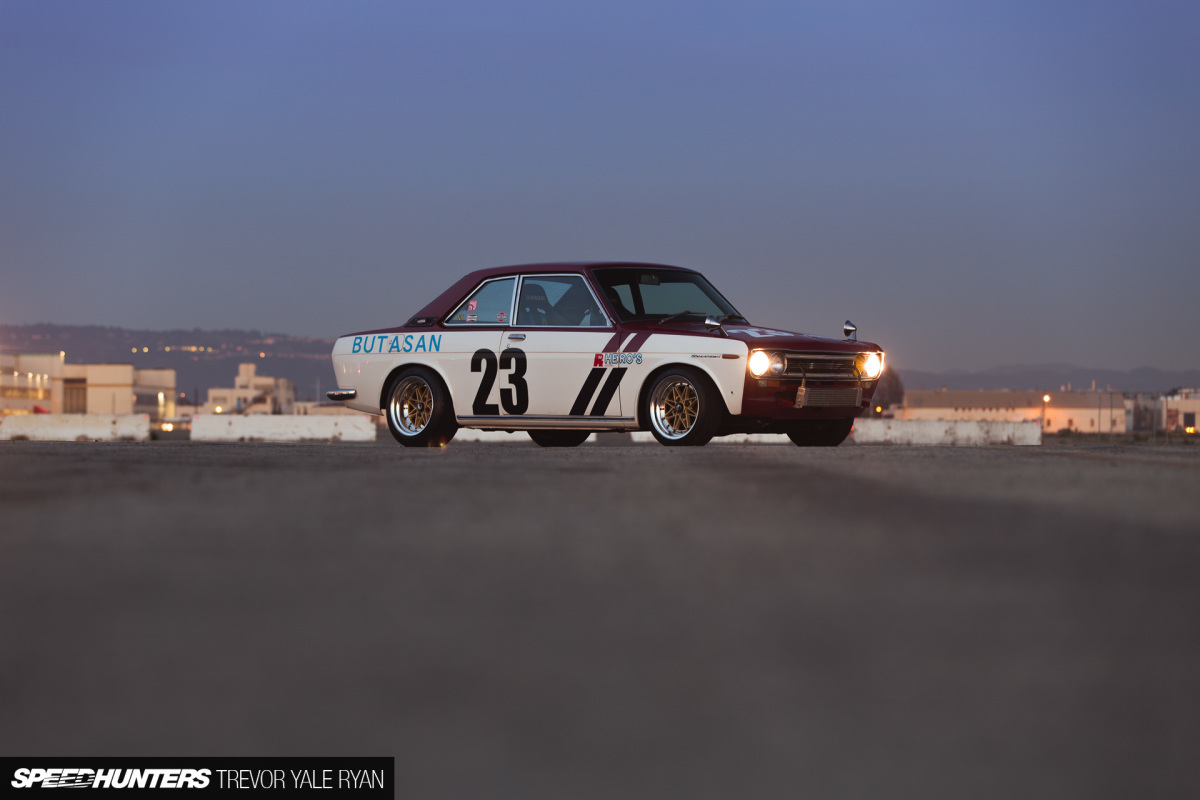 Datsun Bluebird 1800 SSS Coupe - Птица счастья
