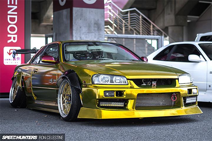 День Nissan Skyline R34 на Фудзи Спидвей