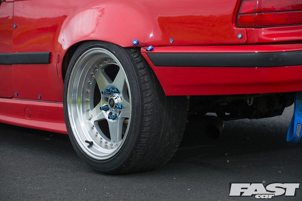 Дрифтовая BMW E36 на 1,5-JZ