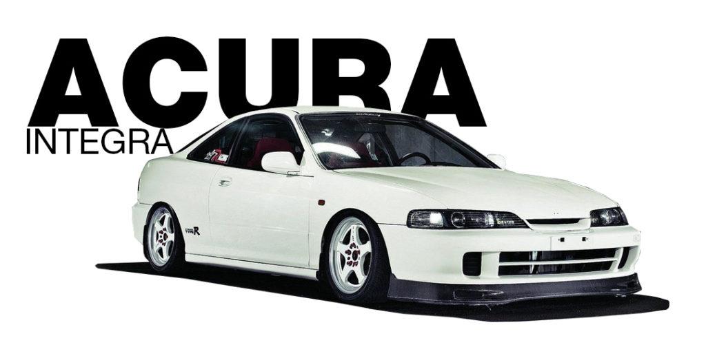 Фейс лифтинг - Acura Integra - Honda Integra DC2