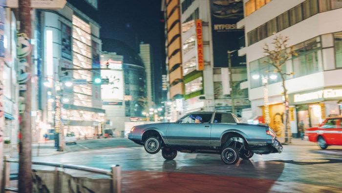 Фотосессия лоурайдеров в Токио