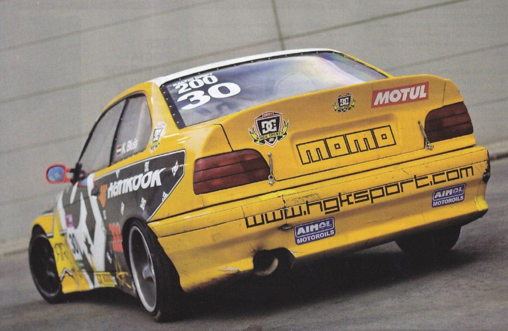 История одного проекта - BMW E36 coupe (дрифт) 8