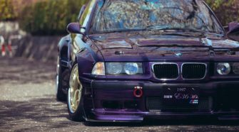Легендарная BMW E36 - Techno Violet