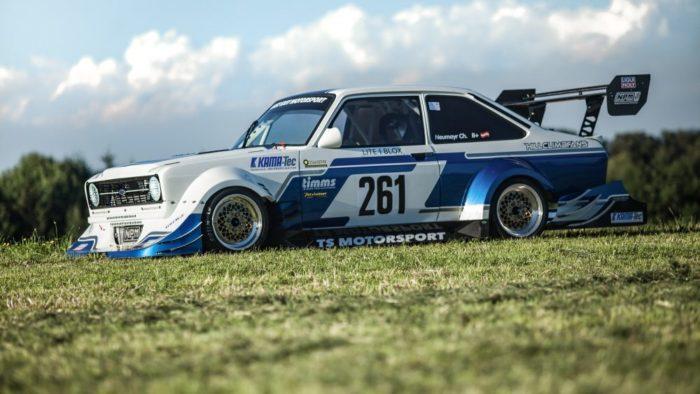 Легендарный форд -Mk2 Ford Escort 4
