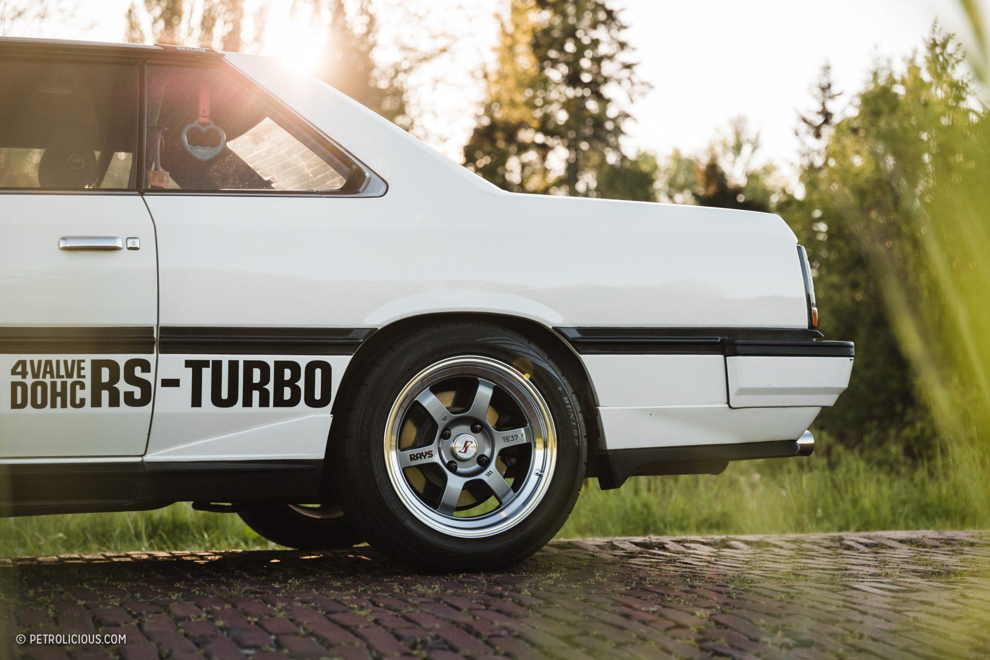 Мечта JDM культуры - Nissan Skyline RS-Turbo, 1983