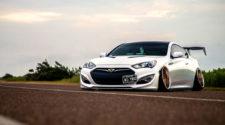 Ничего лишнего - Hyundai Genesis stance