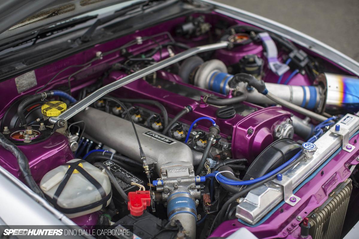 Nissan 180SX на Rocket Bunny и RB25DET
