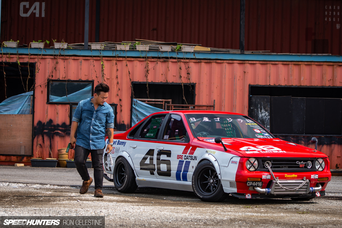 Nissan Cefiro в стиле Rocket Bunny Boss из Малайзии