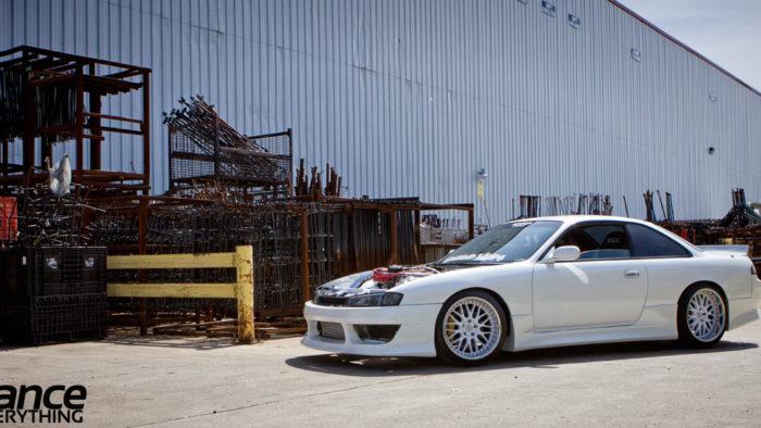 Nissan Silvia S14 c двигателем Volkswagen