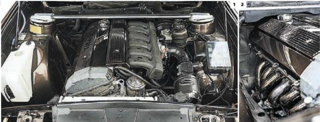 О, едет очередное ведро Проект BMW 5 E28