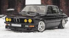 О, едет очередное ведро... Проект BMW 5 E28