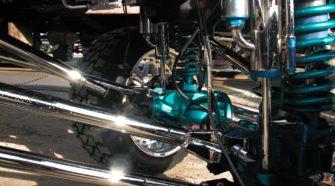 Понты, хром и лифт - cемейка Dodge RAM 3