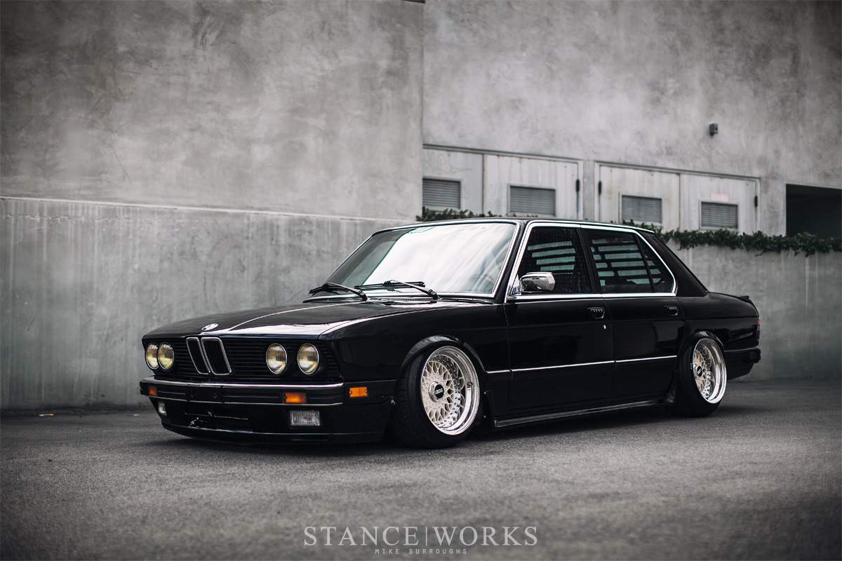 Последняя «настоящая» BMW в кузове Е28 - стенс проект