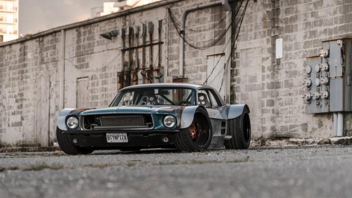 Самый жирный Ford Mustang