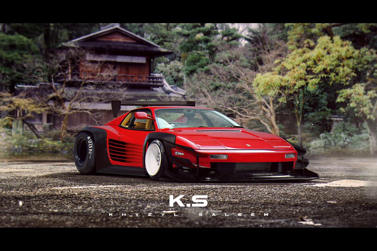 Японское безумие в работах дизайнера Khyzyl Saleem