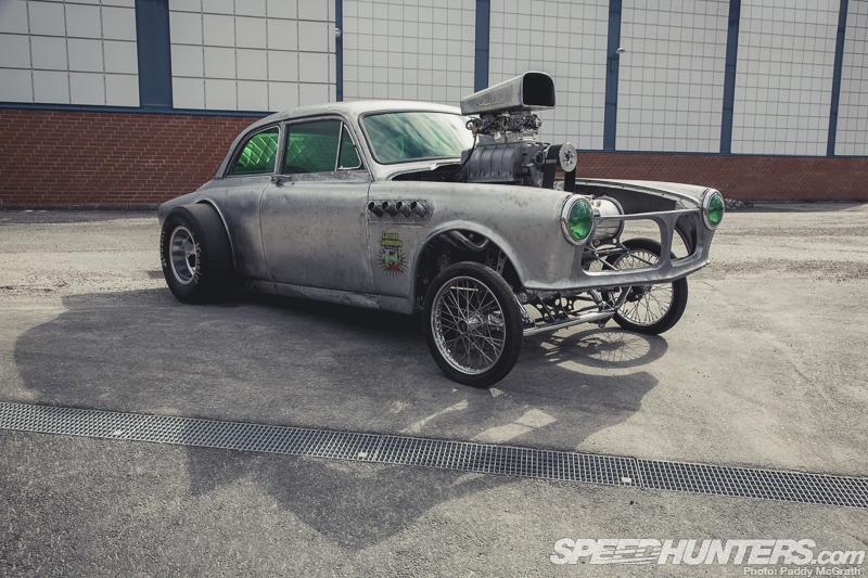 Зомби-апокалипсис - хот-род Volvo Amazon 1966
