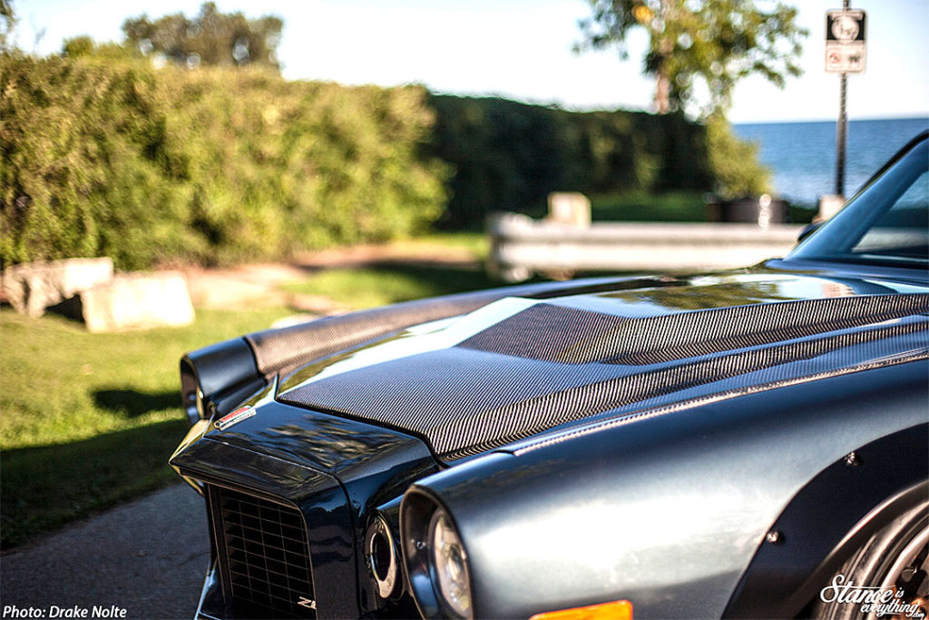 Мускулистый стенс - Chevrolet Camaro Z28