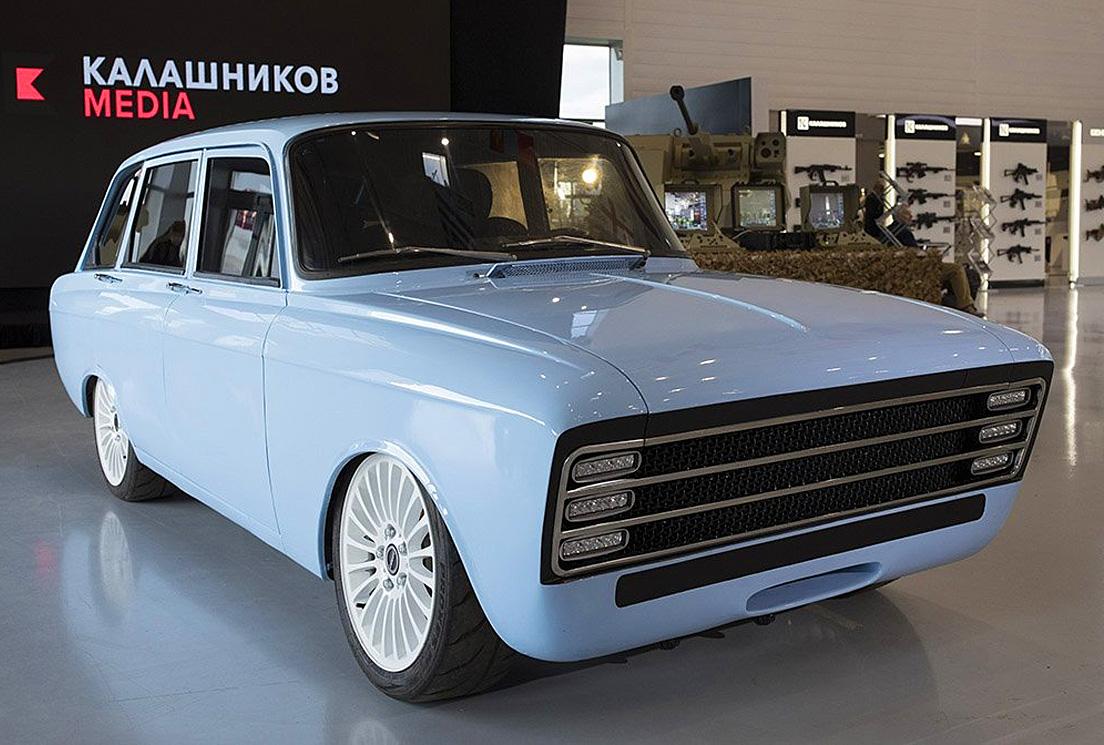 Электрический ИЖ-Комби Иж-2125 от Калашникова