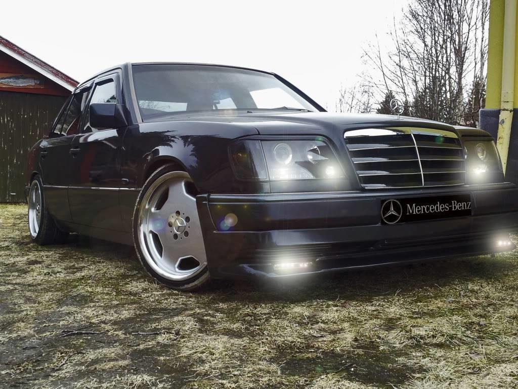 История одного Волчонка - легендарный Mercedes w124