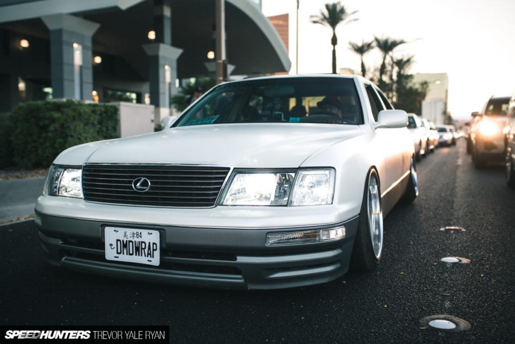 Назад к реальности Lexus LS400 из Лас-Вегаса