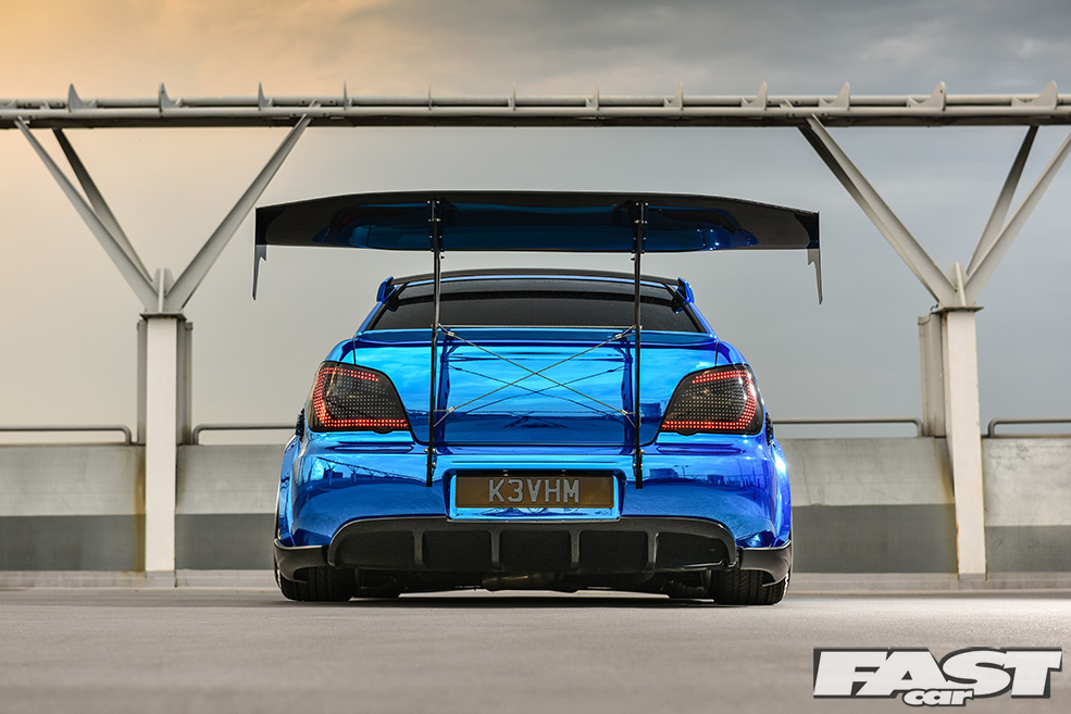 Самая безумная Subaru Impreza