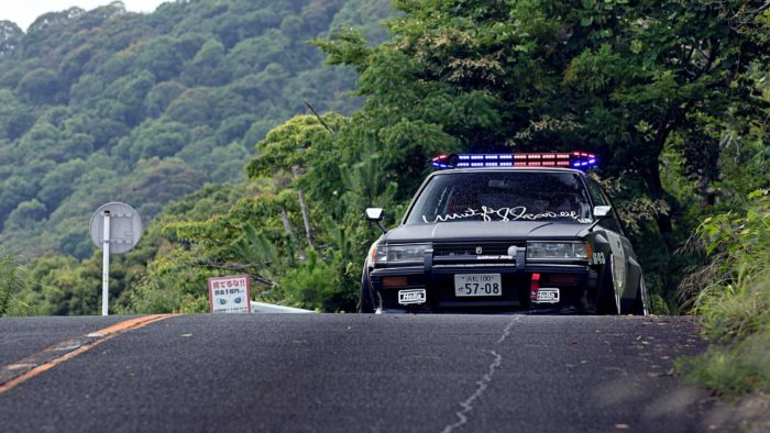 Тойота Марк 2 GX70 дрифт-патруль
