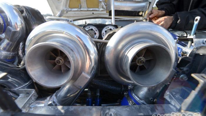 Жирная тачка, 4 турбины - NISSAN SILVIA S14