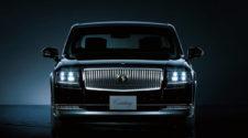 Японская Тойота устроила презентацию своего элитного седана
