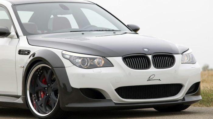 Уникальный карбоновый обвес и эксклюзивный интерьер - BMW M5 CLR 730 RS LUMMA Design