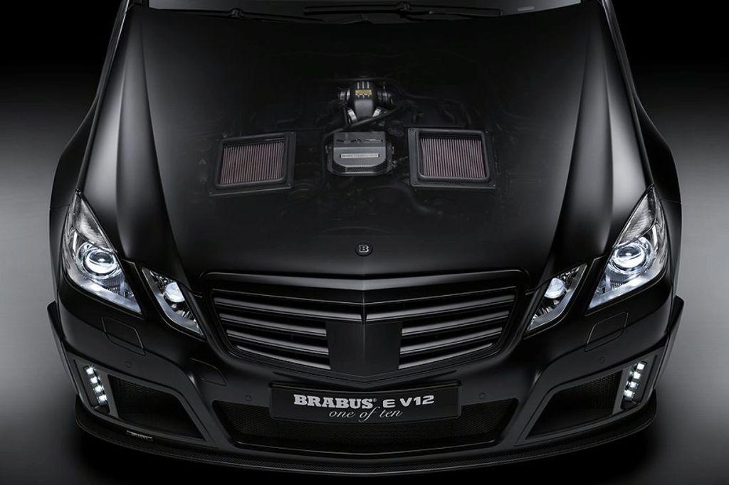 Brabus E V12 - Чем мощнее, тем скучнее