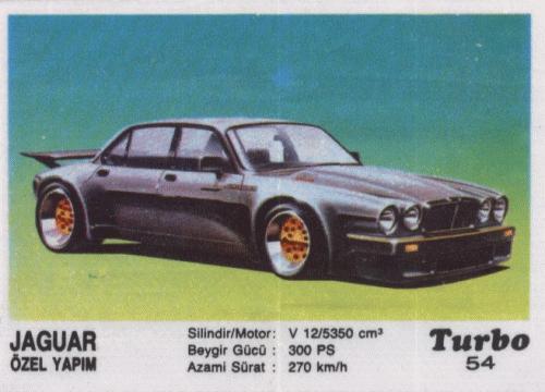 """Очень крутой """"Ягуар"""" - Jaguar Özel Yapim (Jaguar XJ-12 III ser.)"""