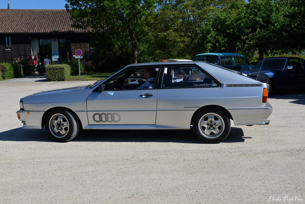 Спортивное купе с мощным турбодвигателем - Audi 100 Quattro