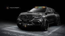 Carlex Design добавил еще одну ось для Mercedes-Benz X-Class