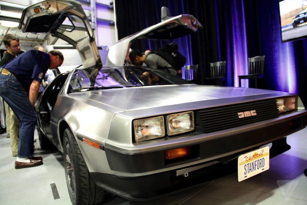 DMC планирует выпустить электрическую версию DeLorean